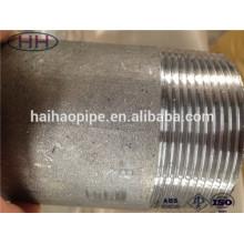 Piqûre de pipe en acier au carbone / tétine en acier inoxydable
