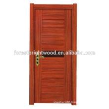 Simple modern design melamine wood door
