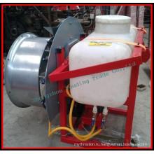 Высокая эффективность вентиляторного опрыскивателя, тяга трактора