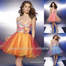 Trendy Sweetheart Sequin A Line Mini Short Multi Heimkehr Kleid Graduierung Kleid