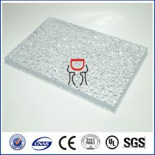 Zhongding сертификатом ISO и SGS CE утвержденный твердый выбитый лист поликарбоната