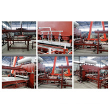 Linha de produção de porta de madeira de laminação de laminado de alta eficiência
