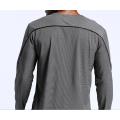 Workout Gym Camisetas de manga larga para hombre