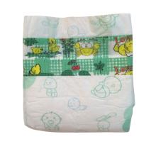 China SUPA SANTI OEM disposable baby diaper with good price