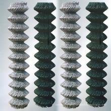 Clôture en maille métallique (maillon de chaîne) en PVC recouvert