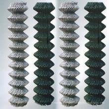 Cerca de malha de arame (ligação de corrente) PVC revestido