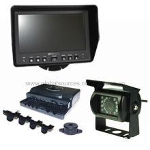 "Visible Parking Sensor Kit, 7"" Digital LCD Monitor, Displays the Section Distance, 12-24V Power"