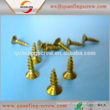 Wholesale in china flat head ruspert coated chipboard screw