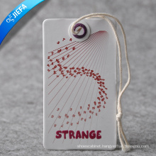 Supply Fold Over Hang Tag /Clothing Tag in High Quality