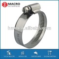 DIN3017 band 9mm and 12mm hose clamp with welding