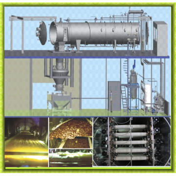 Concentrated Fruit Juice Fruit Powder Processing Line