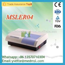 MSLER04M Lector de microplacas para ELISA Elisa Microplate Reader funciona con ordenador externo, fácil de usar