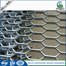 Corrosion Resistant Powder Coated Expanded Mesh