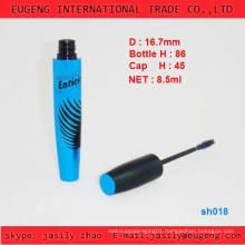 New designed blue mascara empty tube