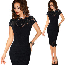 Women Elegant Sexy Office Dress Party Evening Dress