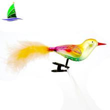 100% Handmade Glass Birds Hanging Ornaments Decoration
