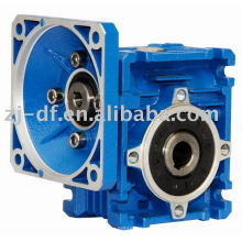 RV series worm gearbox with flange