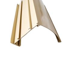 curtain rail aluminium extrusion profile for window blinds
