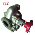 durable high flow stainless steel gear pump for lubricating oil