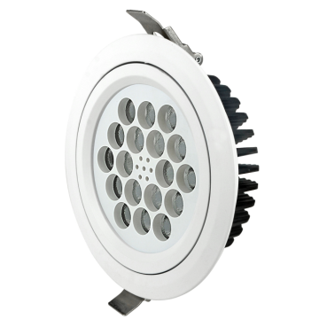 18 luces LED ajustables 30W / 35W