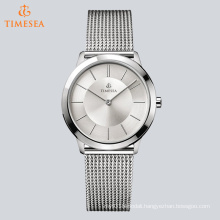 Stainles Steel Simple Mesh Band Watch for European People 72529