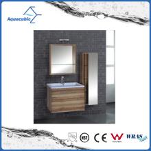 Деревянные МДФ с легкими шкаф ванной комнаты (AME1111)