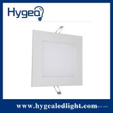 18W alto brilho plana levou luz do painel quadrado