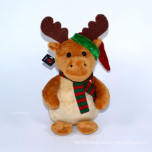 Plush Christmas Deer Decoration