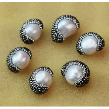 Best Selling Baroque Pearl Crystal Bead Gemstone Jewelry Accessory