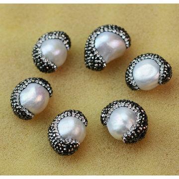 El accesorio superventas de la joyería de la piedra preciosa del grano cristalino de la perla de la venta