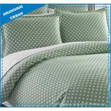 Bamboo Knot Design Printed Cotton Bedsheet Set