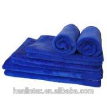 Serviettes teintées en couleur solide (serviette en microfibre)