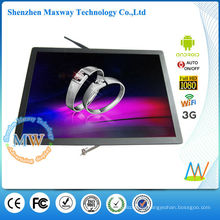 17 inch 5:4 lcd android digital signage player
