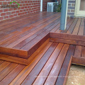 Outdoor Teak Color Distressed Crack-Resistant Waterproof Merbau Decking Timber