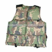 camouflage flotation jacket