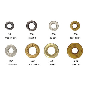 Metal Eyelets for Shoes, Curtains,Tents, Clothing, Belt and Leather Work