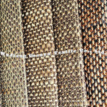 100% Polyester Rough Linen Fabric for Home Uses