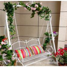 2016 новый дизайн кованого железа качели открытый для отдыха и балкон