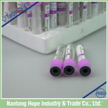 tube de prélèvement de sang médical 3ml, 5ml, 10ml