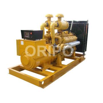 Generador diesel 300kw shangchai de potencia principal con gran silenciador