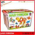 2016 Mag Wisdom 3D Magnetic Intelligent Building Blocks Toys 155PCS Ultimate Set