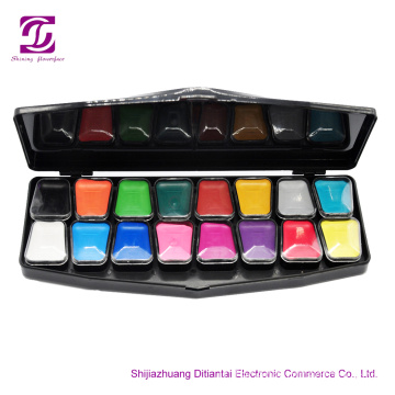 Good Coverage Private Label 16Colors Face Paint Kit