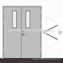 Passageway aisle Double swing Steel Door