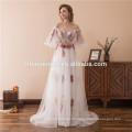 2018 Haute Couture Kleid Abendkleid plus Größe sleeveless Spitze Maxi langes Kleid