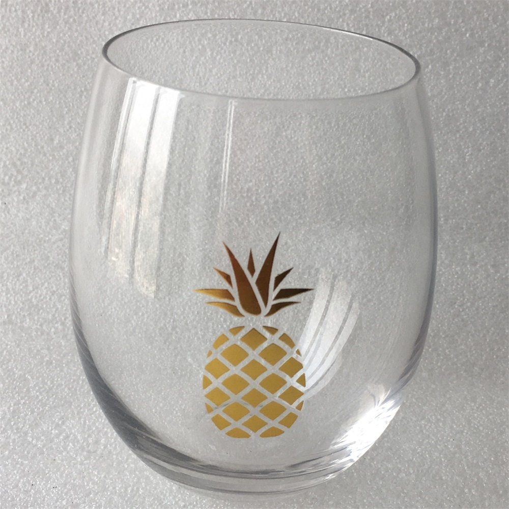 Stemless Wine Tumbler Glass Set 16oz3