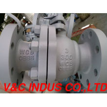 Manual Carbon Steel Float Type Ball Valve