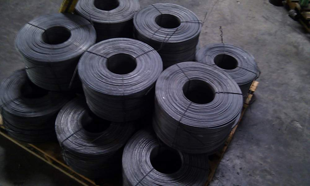 12 Guage Black Annealed Rod Iron Wire