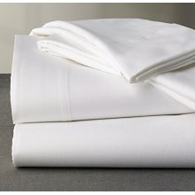 Pure cotton 300TC sateen white fabric