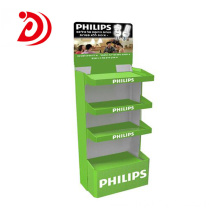Factory made hot-sale for Commercial Display Stands PHILIPS lights floor display stands export to South Korea Manufacturers