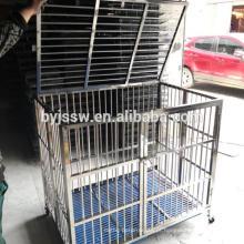 Caixão de cão e caixote de cão de aço inoxidável BAIYI para venda